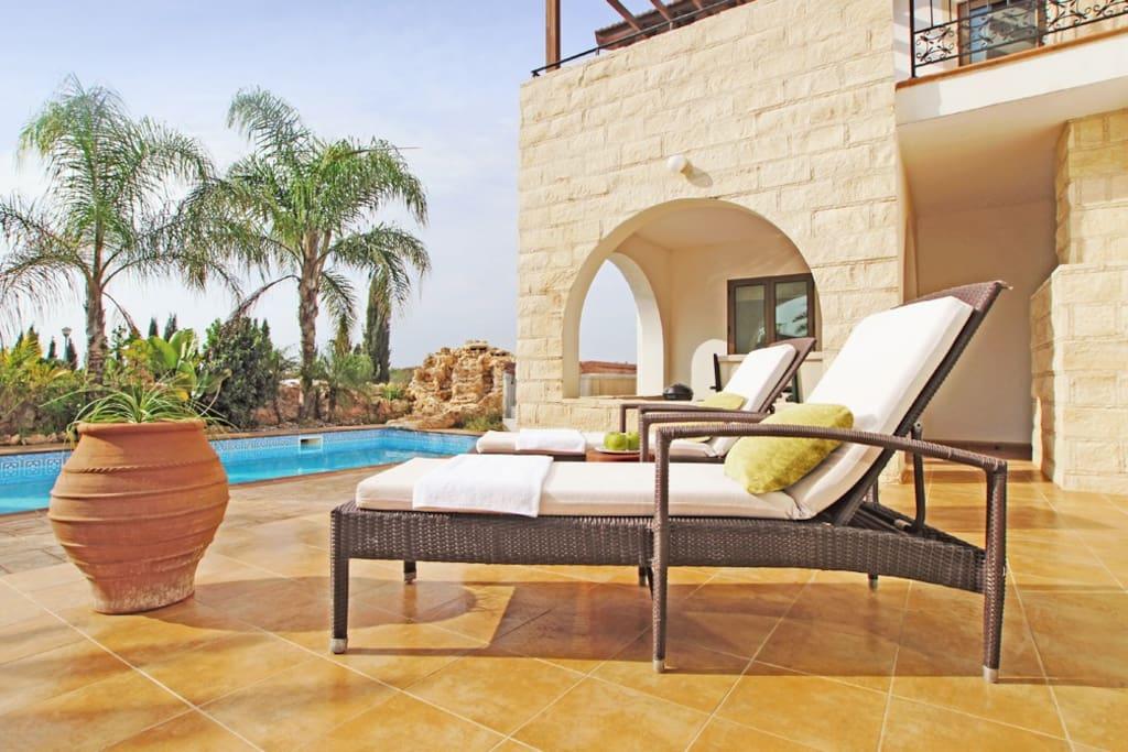 Villa Elina - Ayia Thekla, Cyprus