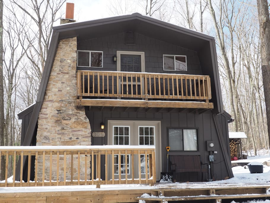 Cozy Cabin In The Woods At Deep Creek Lake - Cabins For -3026