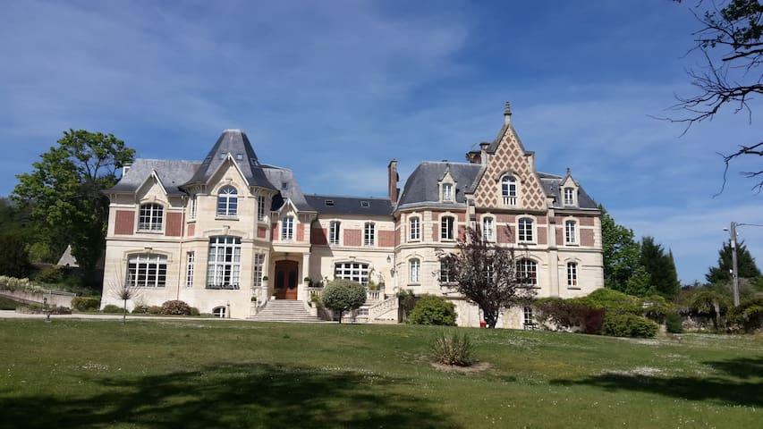 Chambre privée dans un château