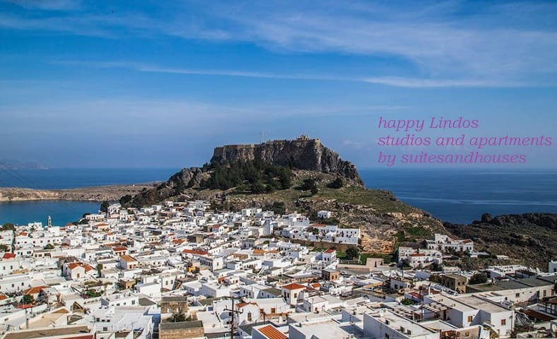Happy Lindos studio - Rodos - House