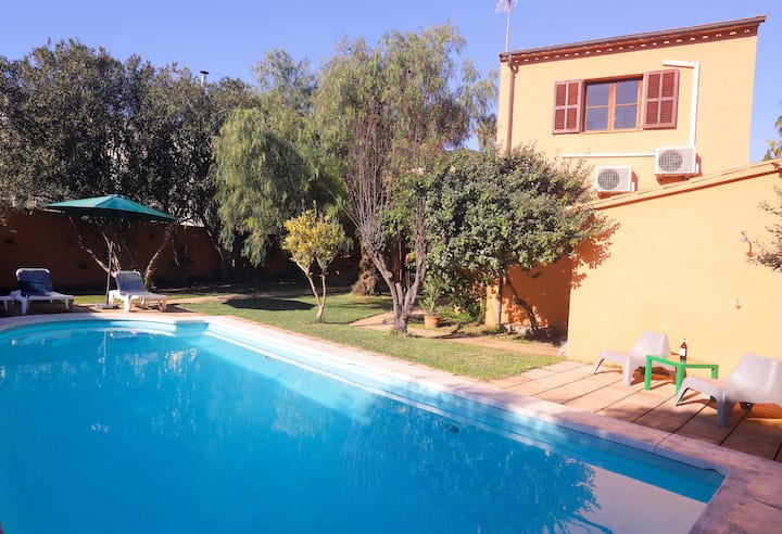 Villa Sa Taulera with Mountain View, Wi-Fi, Garden, Pool & Terraces; Parking Available, Pets Allowed upon Request