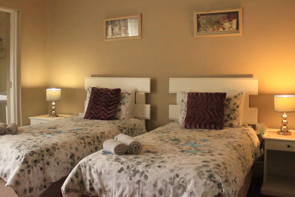 Two single bed - room 3