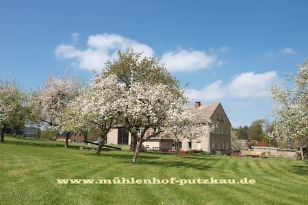 Mühlenhof Putzkau - Ferienwohnung in der Lausitz