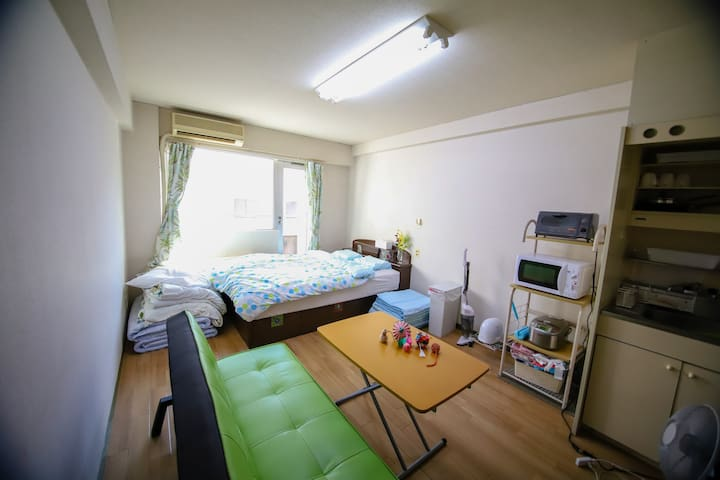 Good location(in Sakae)☆5min to Nagoya station