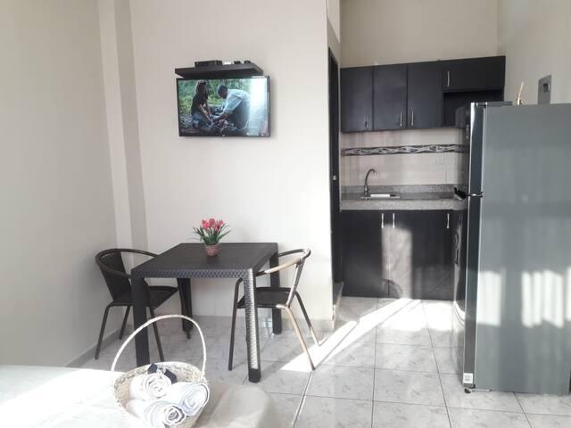 Elegante B5 Suite estudio Zona Riocentro Norte