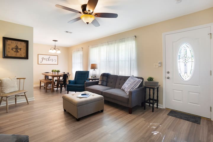 Comfortable, casual spaces to relax and enjoy!