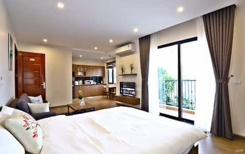 Brand new Studio apartments 💔 Big balcony💔Rooftop