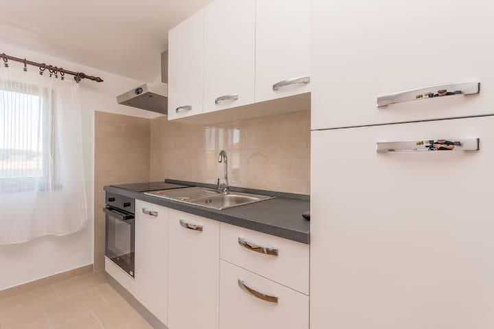 One bedroom Apartment, in Biograd