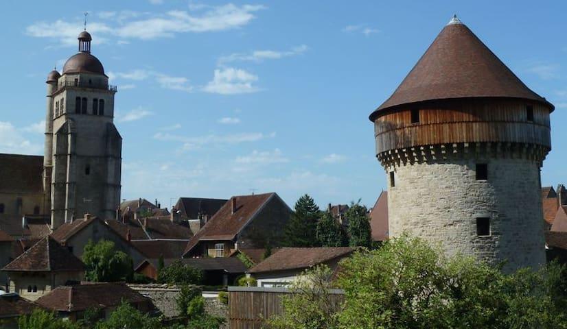 Studio centre historique de Poligny