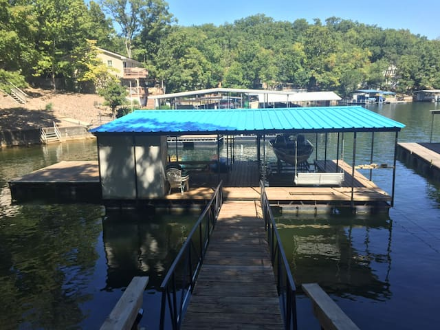 Lake Front House w/ Boat Slip and Swim Dock