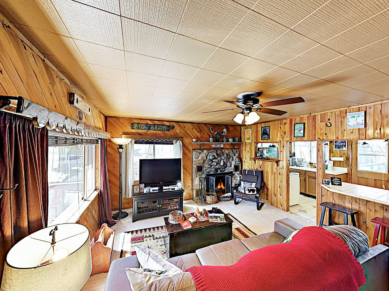 Welcome to Big Bear! This home is professionally managed by TurnKey Vacation Rentals.