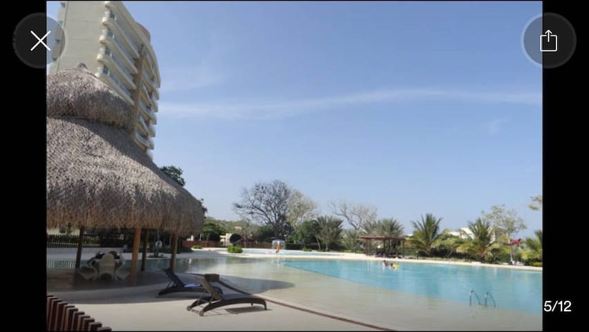 Beach House in Caribbean resort. - Cartagena - Hus