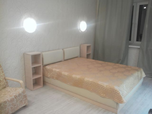 Уютная 1-комнатная квартира в центре - Arkhangel'sk - Apartmen