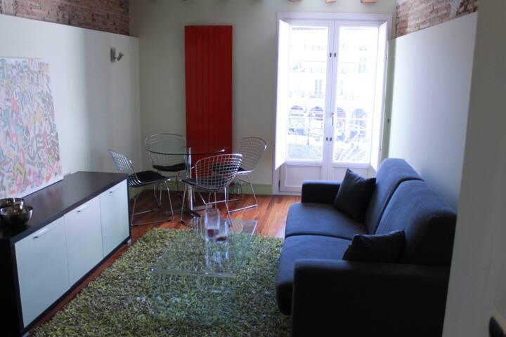 Moderno estudio en Plaza del Mercado - Logroño - Huoneisto