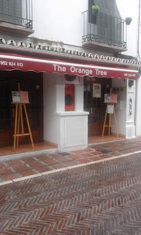The Orange Three Restaurant           In Orange Square