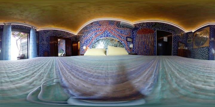Gaudi': mosaici,vista mare,wifi  e parcheggio