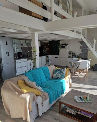 Appartement de charme 6 personnes - T4 (98m2)