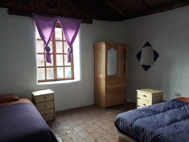 El Molle, The Violet Room, beautiful private cabin