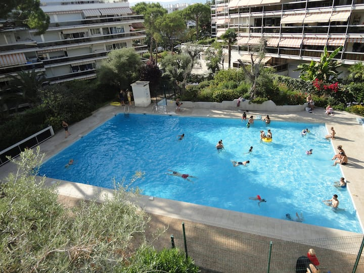 belle F1 Climatiser+Piscine+ Parking 5 min plage