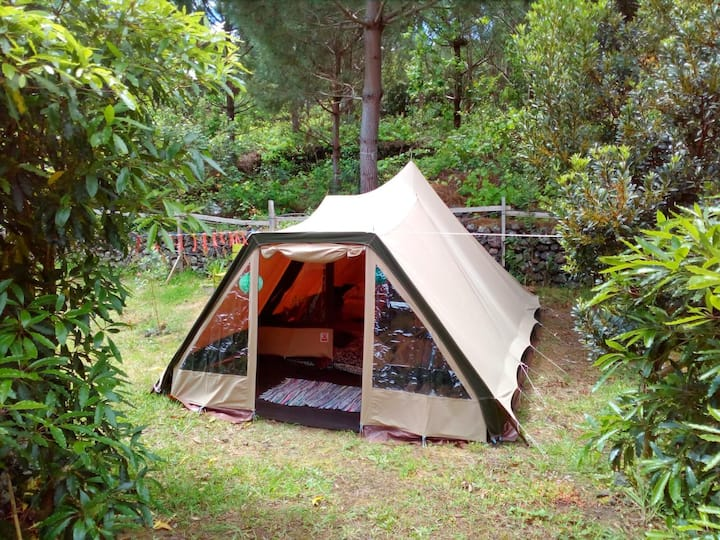 AbbyVille Ecocamping - Romantic tent for a couple