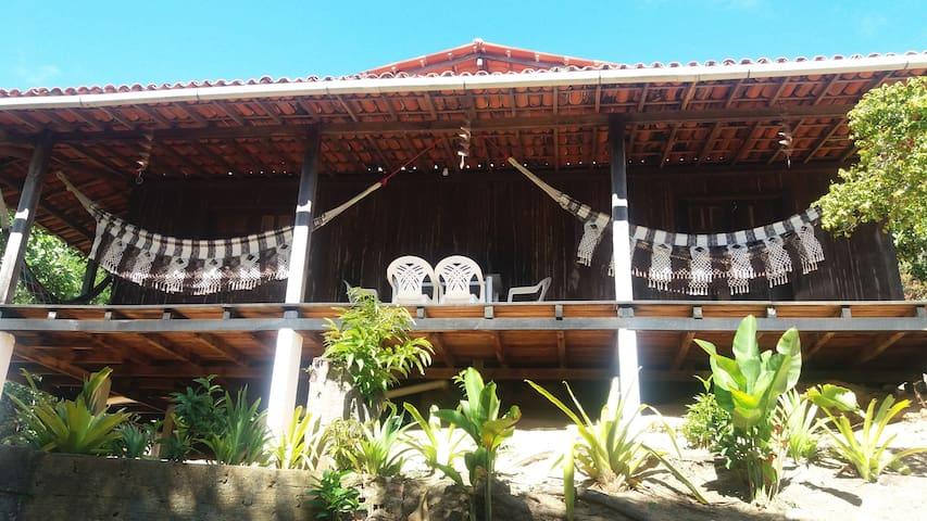 CASA RECANTO DOS PÁSSAROS - Morro de São Paulo - บ้าน
