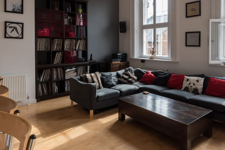 Luxury grade 2 listed Central Flat - Sheffield - Appartement