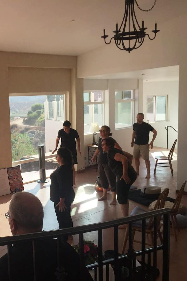 Escondido 1-Day M retreat with Qi Gong
