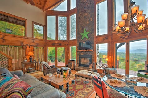 Secluded Nantahala Forest Refuge w/ Mountain Views