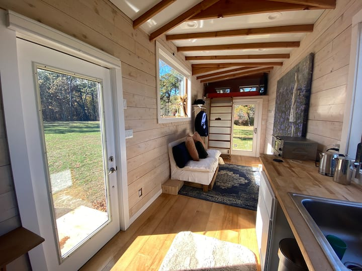 Tiny Home - Brand New - On a 40 Acre Preserve