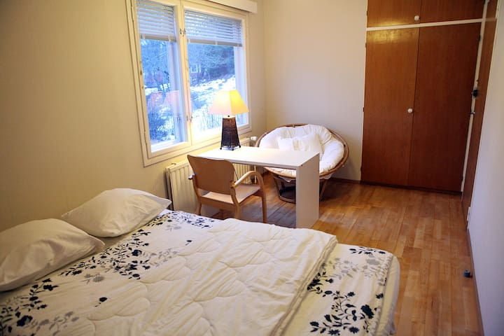 Lovely private room in wooden home #1 - Lahti