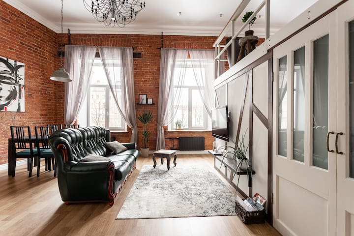 AMAZING LOFT NEAR RUBINSTEINA STREET, CENTRE!!!