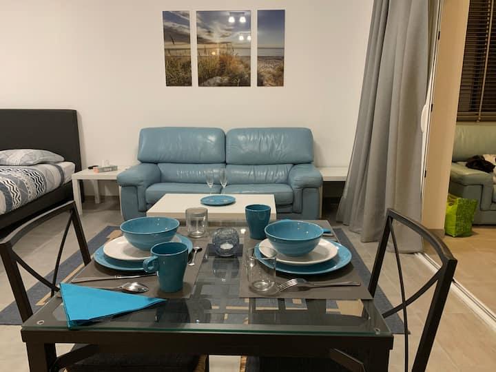 appartement neuf avec véritable jacuzzi privatif