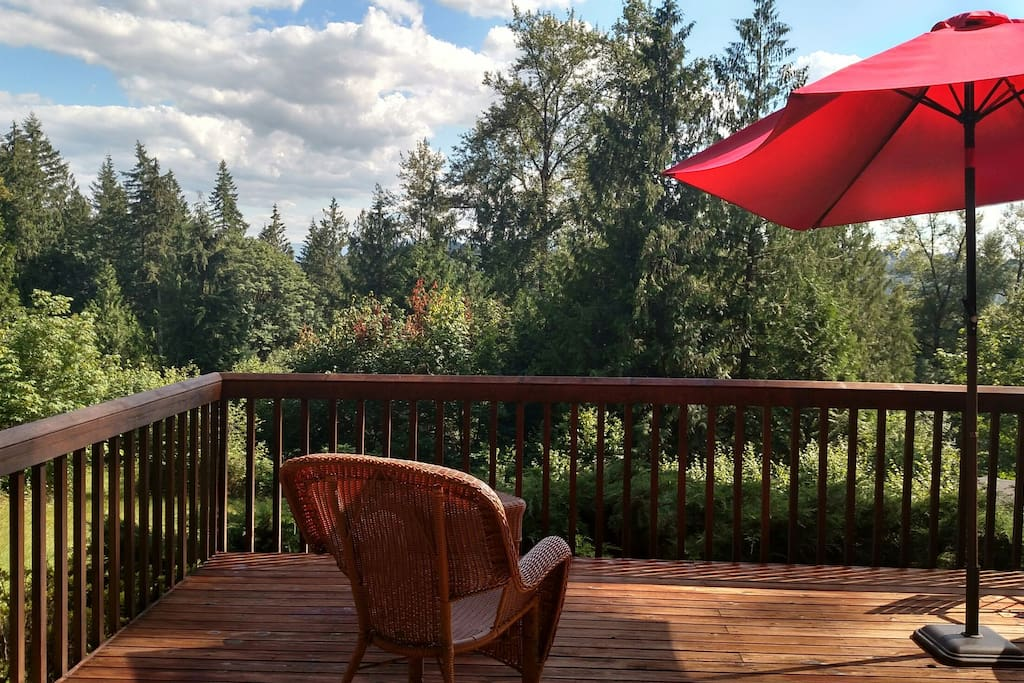 Your own private deck!