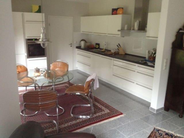 Einzimmerwohnung mit hochwertigem Ambiente - Worpswede - Lägenhet