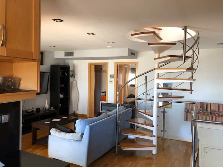 Loft Studio de 60 m2  con Terraza Jacuzzi