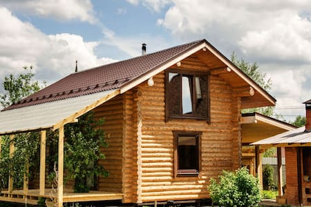 House with a Russian bath on the wood - Химки  - Talo
