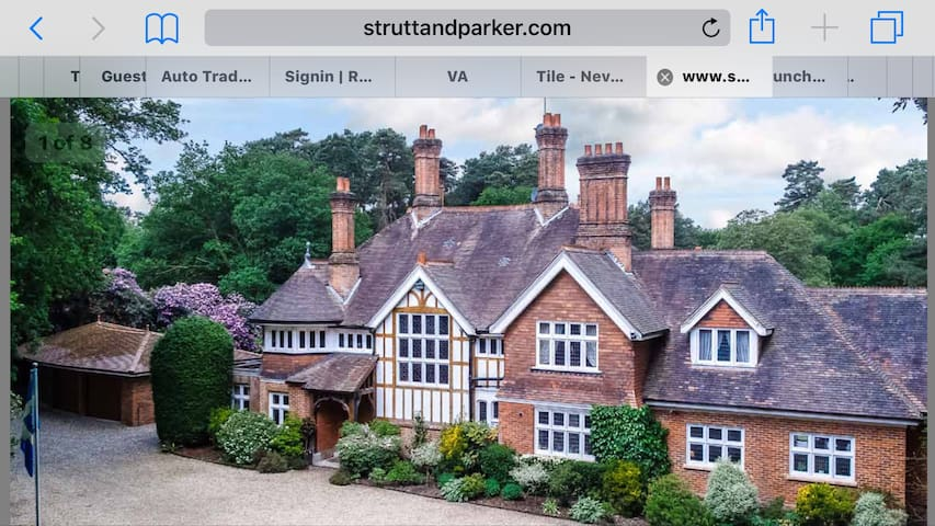 Apartment in Victorian Mansion sleeps 4 - Ascot - Appartement