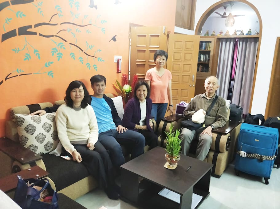 Guests having good time at Anjana's Homestay
