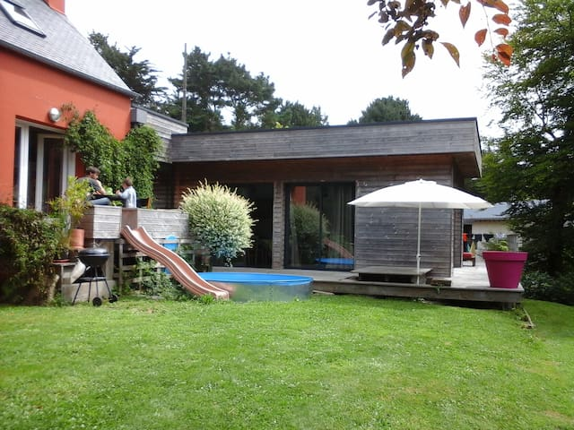 Maison contemporaine entre Mer et Forêt - Ploulec'h - Haus