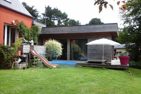 Maison contemporaine entre Mer et Forêt - Ploulec'h - Hus