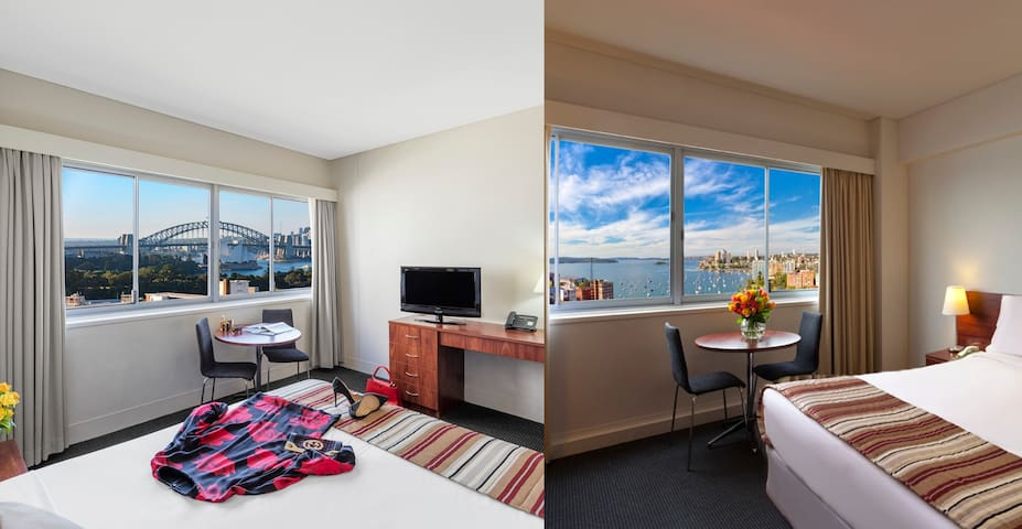 Self Contained Harbour View Studio Apartment - sleeps up to 4 guests