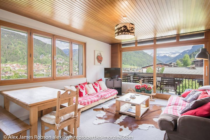 5mn walk from the center for this 2 beds in Morzine
