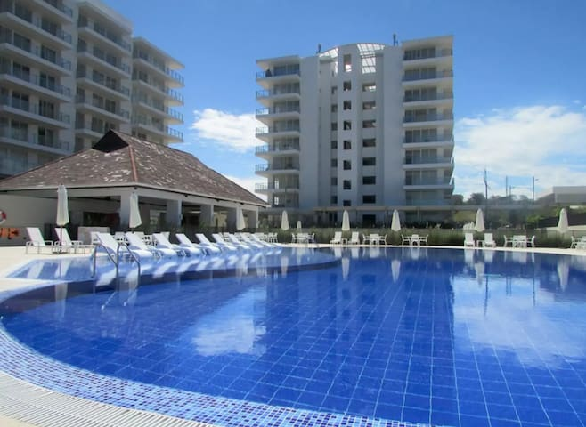 Apartamento. Exclusivo condominio Puerto Tranquilo