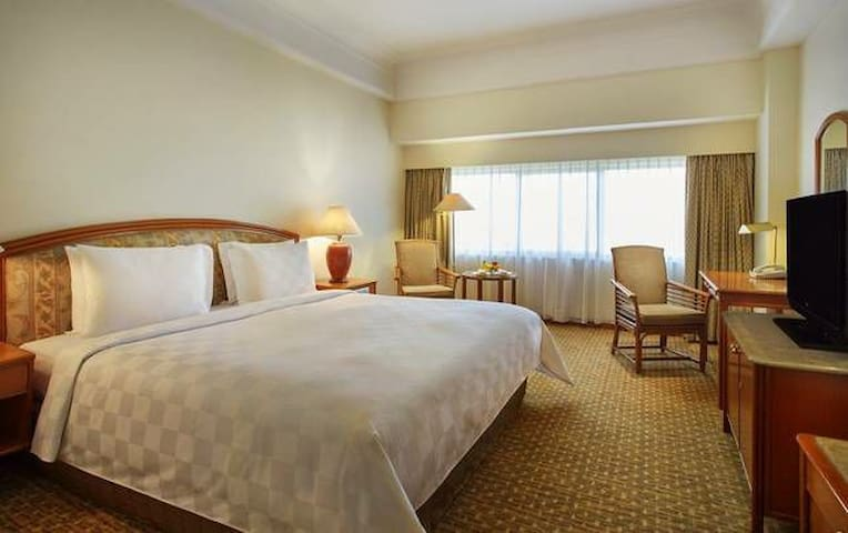 Aryaduta Hotel Double Bed Center of Jakarta