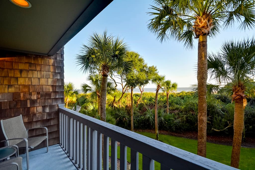 Chair,Furniture,Palm Tree,Tree,Railing
