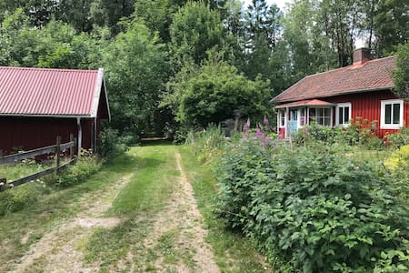 Cozy cottage built in 1888, 50 min from Göteborg