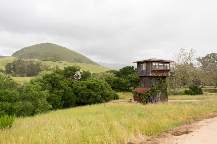 Water Tower at Flying Caballos Ranch