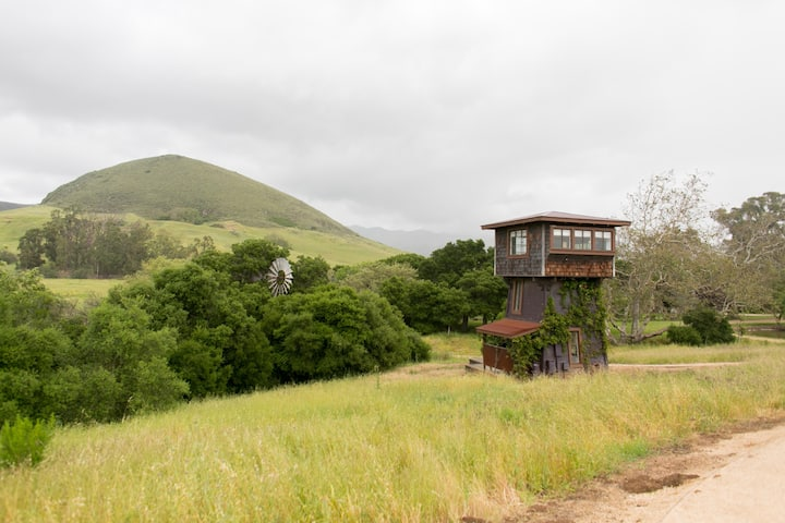 Water Tower at Flying Caballos Ranch
