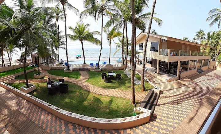 Resort at Devbag Malvan, With Private Beach