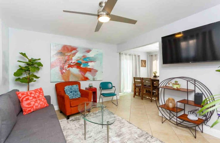 A family home get-Away! 4 BR 2 bath private Yard